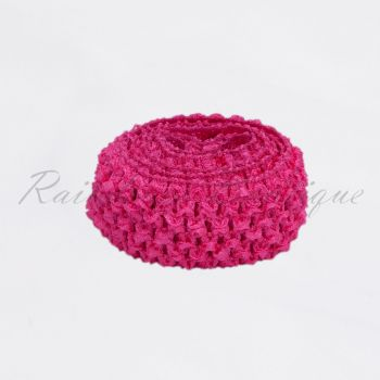 Neon Pink Headband By The Metre 1.5 Inches